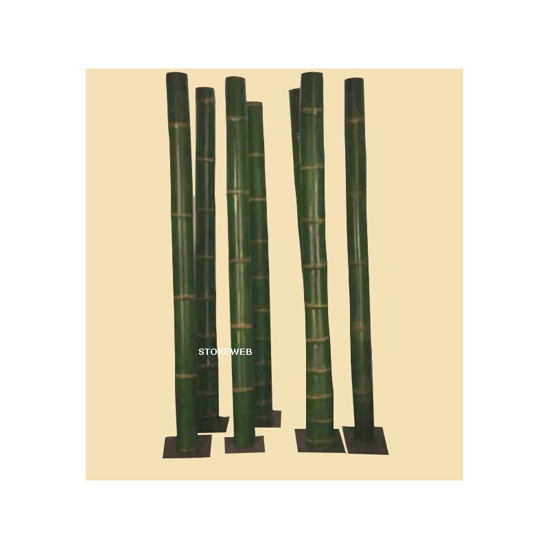 PARAVENT FAT GREEN BAMBOO 1